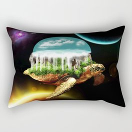 The great A Tuin Rectangular Pillow