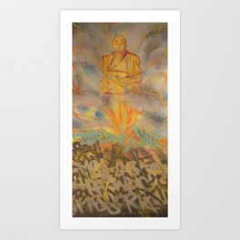 Seated Meditation Art Print