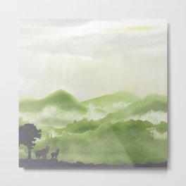 White Cloud | Miharu Shirahata  Metal Print