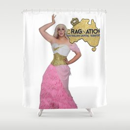 Dragnation Season 5 - ACT - Toni Kola Shower Curtain