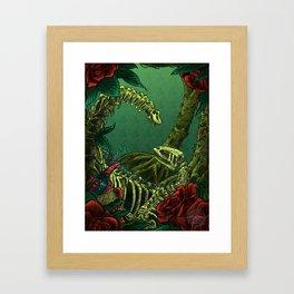 Predator and Prey Framed Art Print