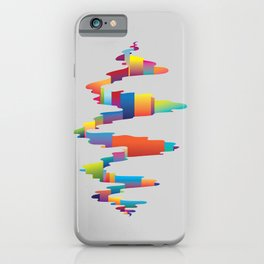 After the earthquake iPhone Case