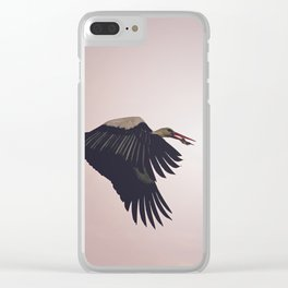 Flying Home Clear iPhone Case