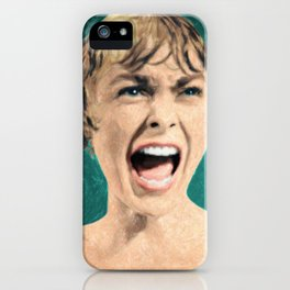 Psycho Shower Scene iPhone Case