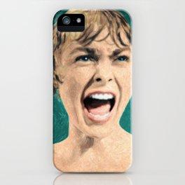 Psycho Shower Scene iPhone Case