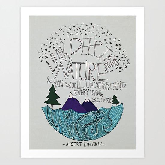 Nature II Art Print