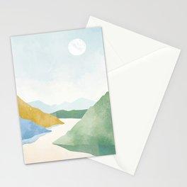 Serenity Landscape 3 Stationery Cards