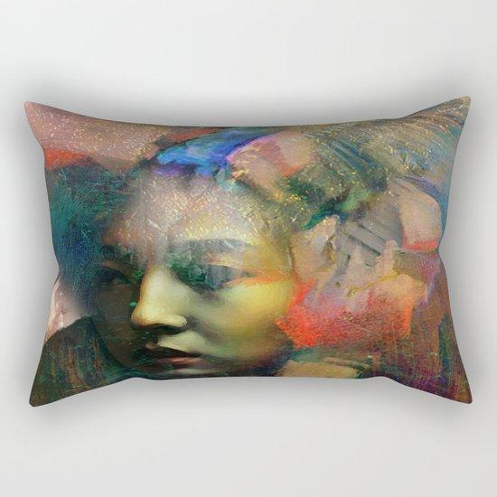 Furtive memory Rectangular Pillow