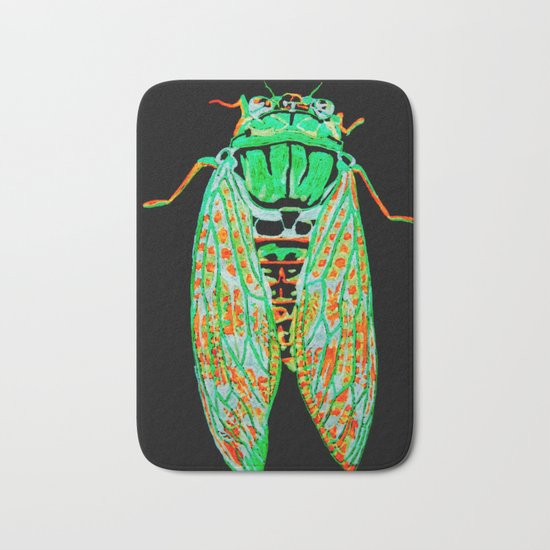 Cicada (Inverted) Bath Mat