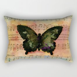 Butterfly Collage 7G by Kathy Morton Stanion Rectangular Pillow