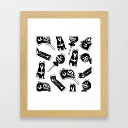 Chappy the Shiba Dog© Assorted Framed Art Print