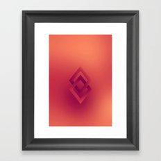 Duel Diamonds Framed Art Print