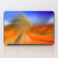 fitzgerald iPad Cases featuring Desert Wave by Christine Fitzgerald Photography