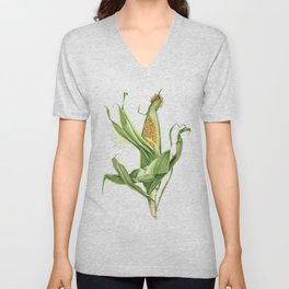 Corn on the Cob Unisex V-Neck