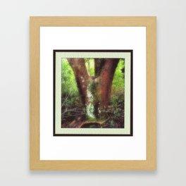 Pan Appeared... Framed Art Print