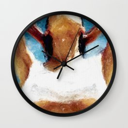 pointed 3 Wall Clock