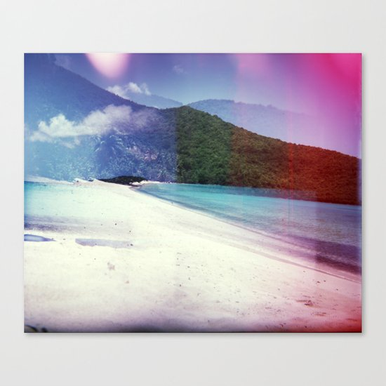 St John, USVI Multiple Exposure II Canvas Print