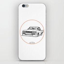 Crazy Car Art 0209 iPhone Skin