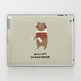 William Shakesbear Laptop & iPad Skin