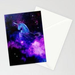 Cosmic Unicorn Stationery Cards
