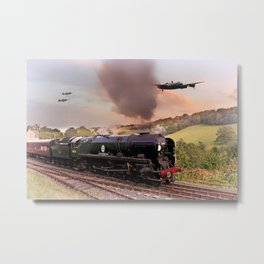 Battle of Britain Class Metal Print