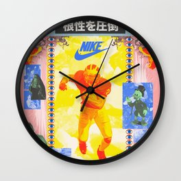 Charles Woodson Dazzles The Space Babe and Other Spectators, Nike Air Max Swamp Gut Bowl 1997 Wall Clock