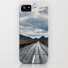 Ring Road iPhone Case