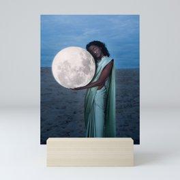 Where do we go when we all fall asleep anyways? Ver ii Mini Art Print
