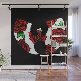 english rose wu Wall Mural