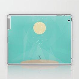 Moon Flower Laptop & iPad Skin