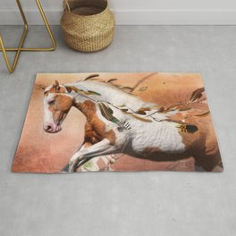 Flying Feathers Rug