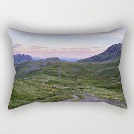 Hanging Knotts and the Langdale Pikes Rectangular Pillow