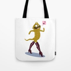 Puss in Hookerboots Tote Bag