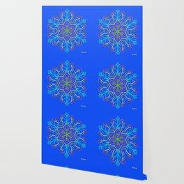Llegó la primavera (en azul brillante) Wallpaper