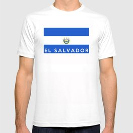 flag of el salvador T-shirt