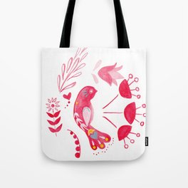 Bird of Hope Tote Bag