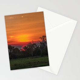 Great ball of fire Stationery Cards