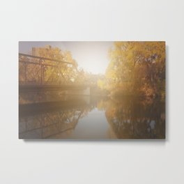 Sunshiny Autumn day Metal Print