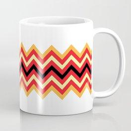 Fire Chevron Coffee Mug