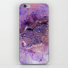 Amethyst Geode iPhone Skin
