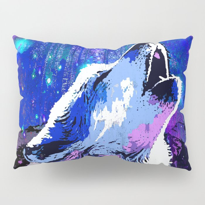 WOLF MOON AND SHOOTING STARS Pillow Sham