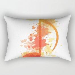 Music Note Rectangular Pillow