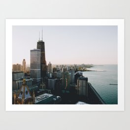 Chicago - View From the Top Art Print