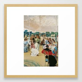 Julio Romero de Torres,  The Cordoba Fair 1899-1900 Framed Art Print