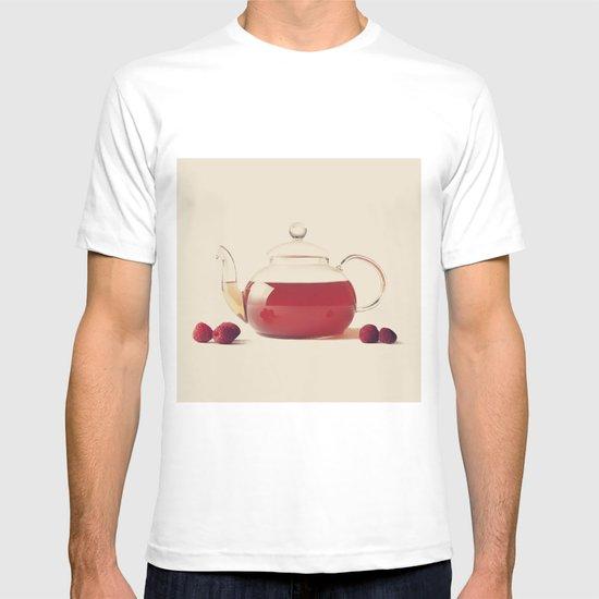 Raspberry Tea (Retro and Vintage Still Life Photography) T-shirt