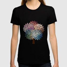 Abstract Petal Tree T-shirt