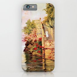 1920 Romantic Lenno Lake Como iPhone Case
