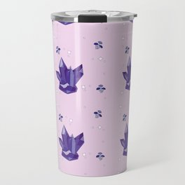 Purple Crystal Travel Mug