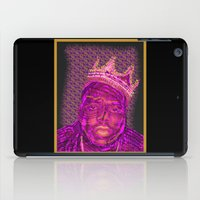 notorious iPad Cases featuring B.I.G Notorious by Dewi Gale