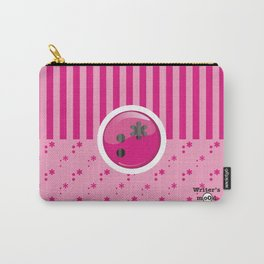 Pink Writer's Mood Carry-All Pouch